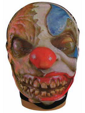 Adult Evil Clown Sock Mask