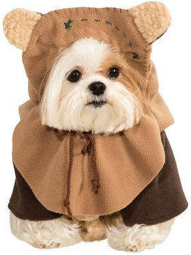 Ewok Dog's Costume for Smaller Dogs
