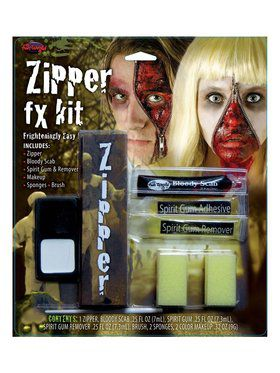 Face Zipper FX Kit