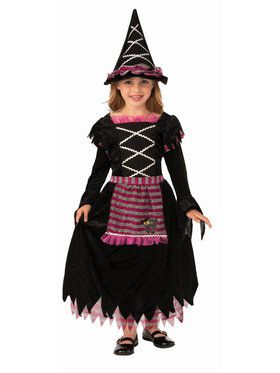 Girls Enchanted Fairytale Witch Costume