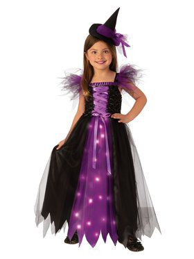 Fancy Witch Costume for Kids