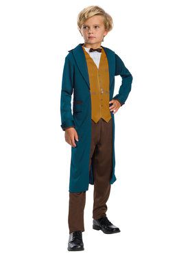 Fantastic Beast Newt Scamander Costume For Children