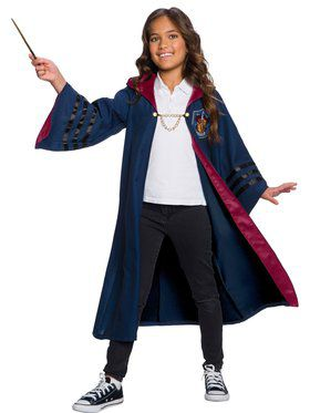 Fantastic Beasts Gryffindor Deluxe Child Robe