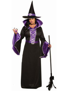 Fantasy Sorceress Plus Costume