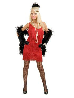 Women's Fashionable Flapper Costume