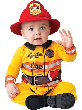 Fearless Firefighter Toddler Costume