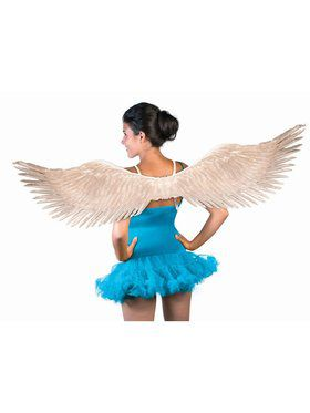 Feather Wings Adult Silver