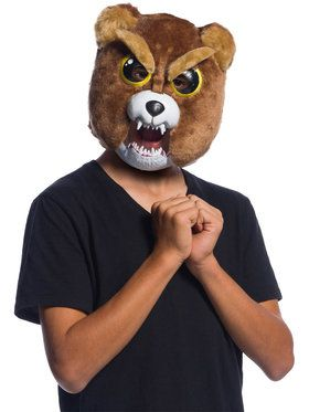 Sir-Growls-A-Lot Mask With Movable Mouth Piece