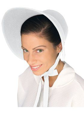 Felt Bonnet White Accessory