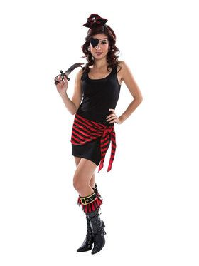 Adult Female Pirate Kit For Adults