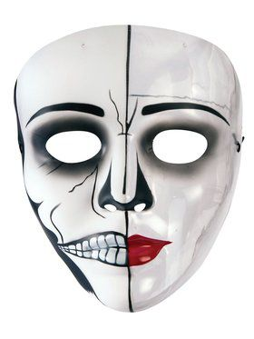 Female Phantom Transparent Mask for Adults