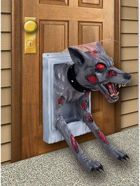Demon Doggy Door