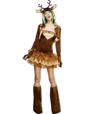 Fever Reindeer Womens Costume
