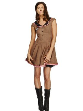 Fever Wild West Women's Costume