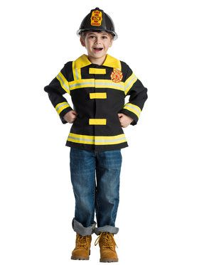 Fire Chief Role Play Set Boy's Costume
