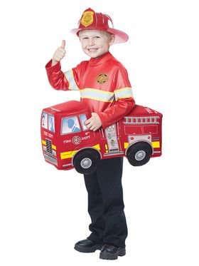 Fire Truck Hero Costume Toddler