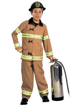 Kid's Firefighter Costume
