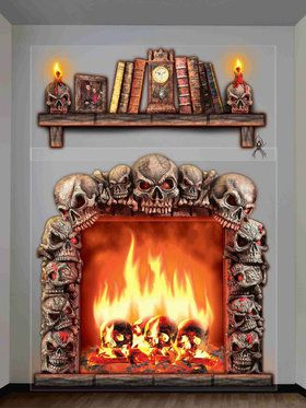 Fireside at the Witch's House Wall Decoration