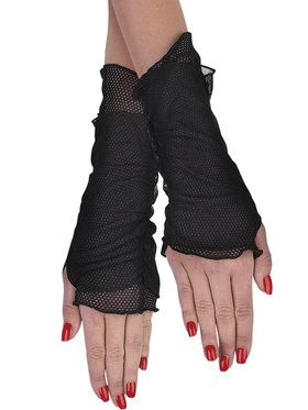 Fishnet Glovelettes