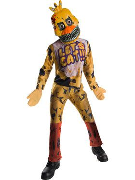 Five Nights At Freddys Chica Costume For Children
