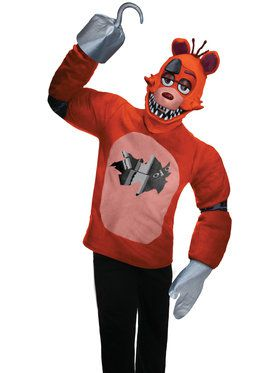 Five Nights at Freddy's Foxy Costume for Teens