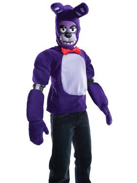 Five Nights At Freddys Bonnie Costume For Children