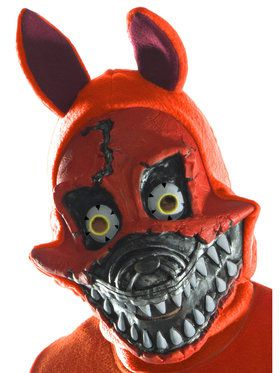 Five Nights at Freddy's - Nightmare Foxy Adult PVC 3/4 Mask