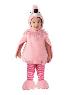 Flamingo Costume for Kids