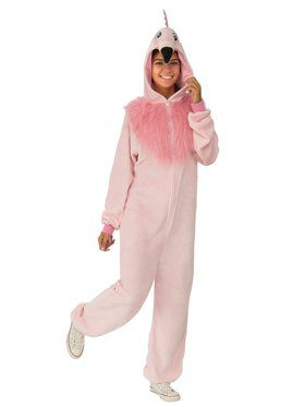 Flamingos Comfy Wear Costume for Adults