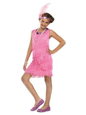 Flapper Costume For Children