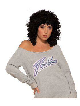 Flashdance Wig for Adults