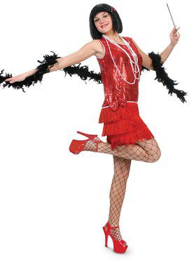 Flirty Flapper Adult Costume