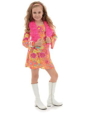 Flower Power Girl's Costume