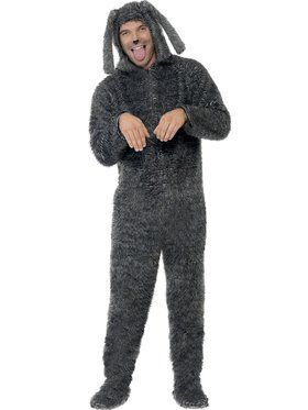 Fluffy Dog Men's Costume