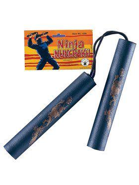 Foam Rubber Ninja Nunchucks