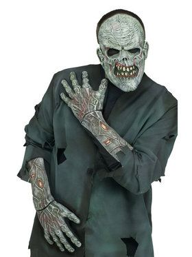Forearm Length Zombie Gloves