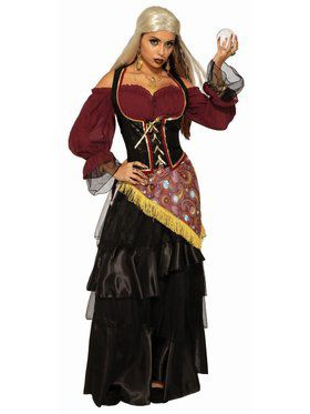 Fortune Teller - Female Dark Fortune Teller Adult Costume