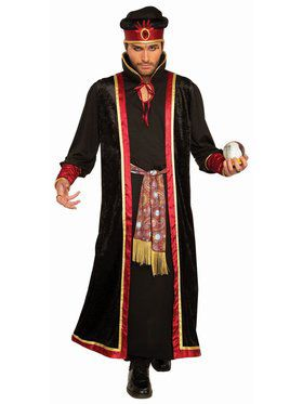 Fortune Teller Adult Male Dark Fortune Teller Costume