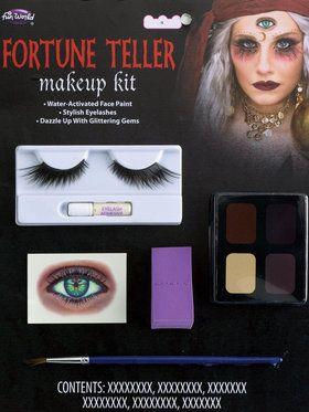 Water Activated Fortune Teller Makeup Kit