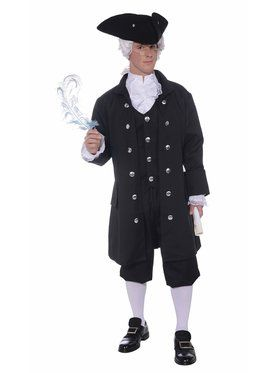 Founding Father Men's Costume