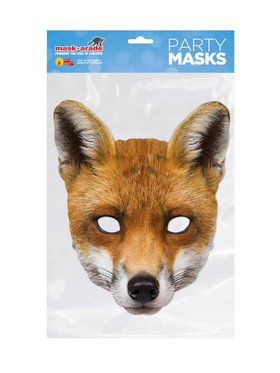 Face Mask - Fox