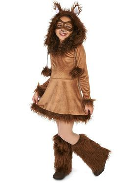 Fox Tween Costume for Halloween