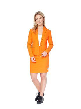 Foxy Orange Womens Opposuit for Halloween