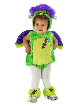 Franken Owl Child Costume