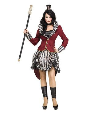 Freak Show Ringmistress Costume For Adults