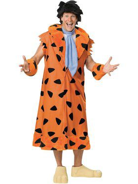 fred flintstone plus adult costume - Halloween Costume For Fat People