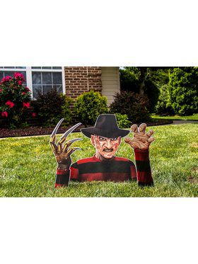 Corrugated Printed Freddy Krueger Ground Breaker