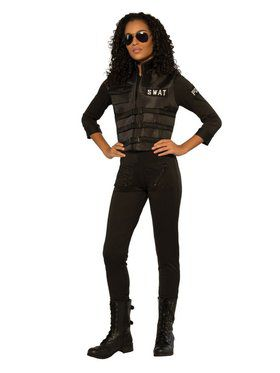 SWAT Freeze Women's Costume