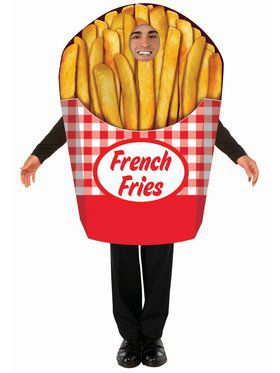 French Fries Adult Costume