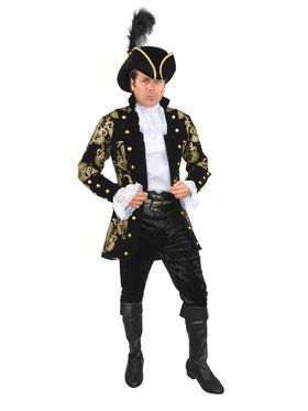 Men's French Pirate Captain Jacket
